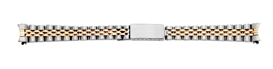 Gold and Silver Small Watch Band